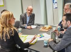 overleg, discussie, workshop, interview